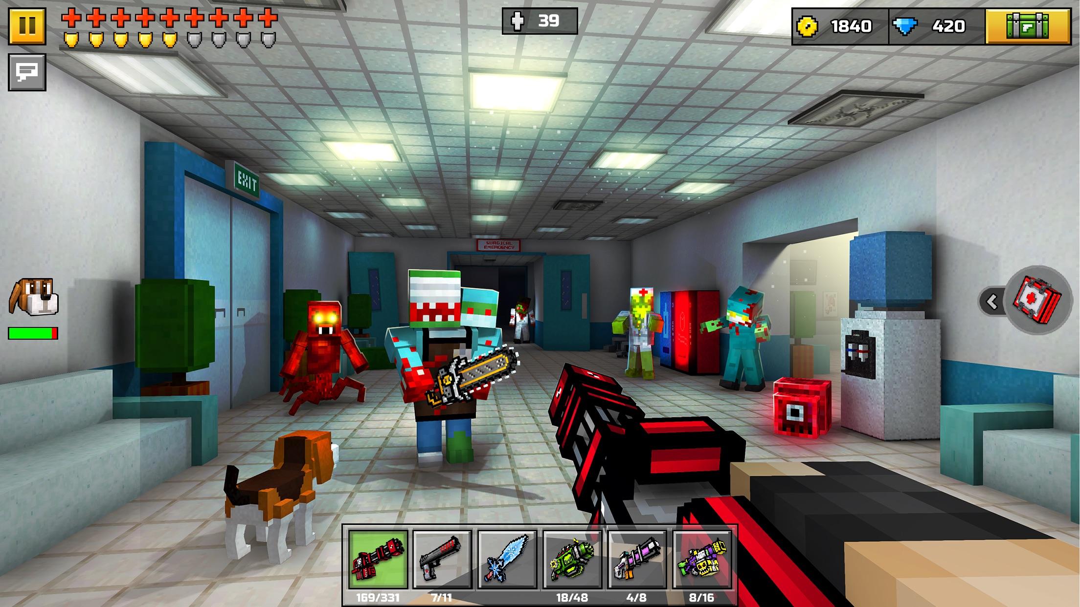 Pixel Gun 3D Screenshot