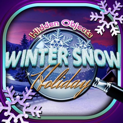 Hidden Objects Winter Snow Christmas Holiday Time
