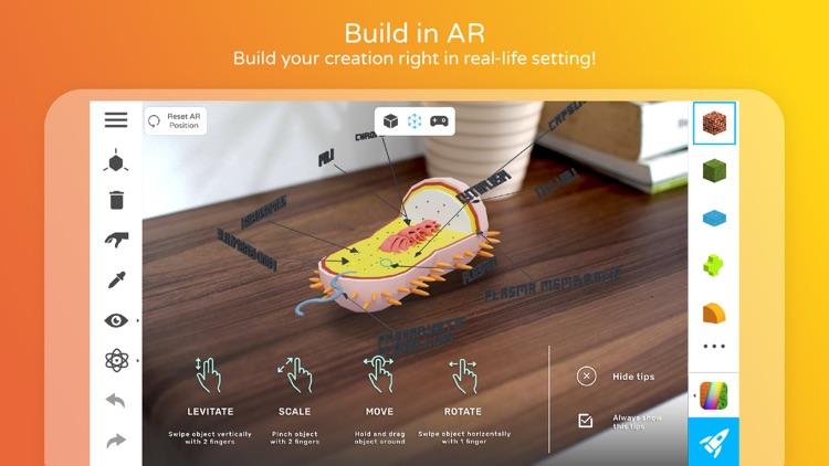 Assemblr - Make 3D, Show in AR screenshot-0
