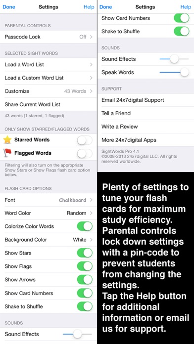 Screenshot for SightWords Pro in Ecuador App Store