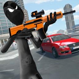 Mafia Stickman Gangster Auto