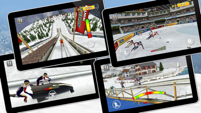 Athletics 2: Winter Sports Pro Screenshots