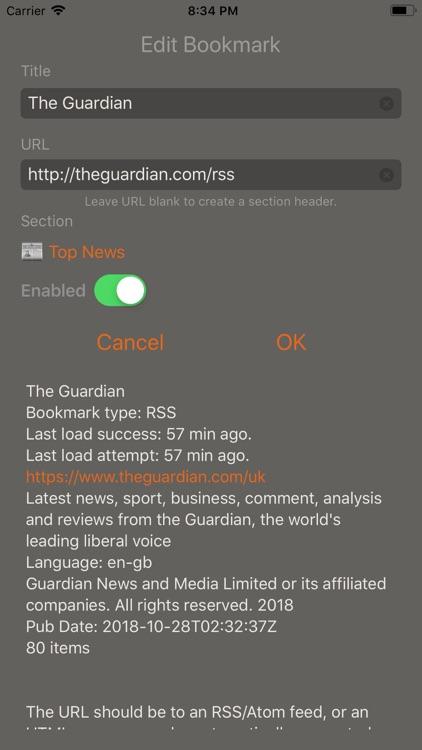 Speak News - RSS news reader screenshot-7