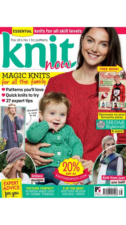 Knit Now Magazine screenshot-3
