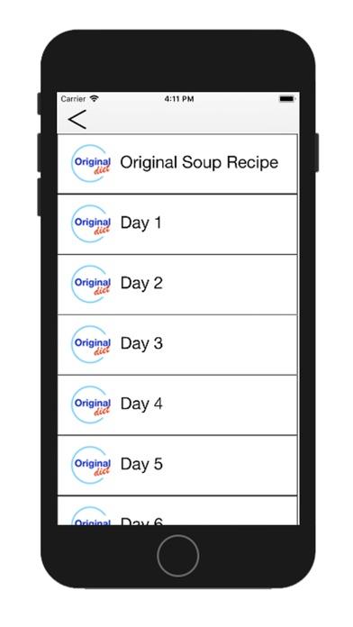 GM Diet - 7 Day Diet Plan screenshot two