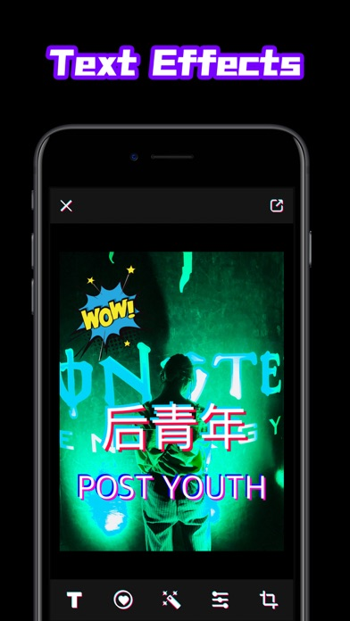 Fext - Text Picture Editor screenshot one
