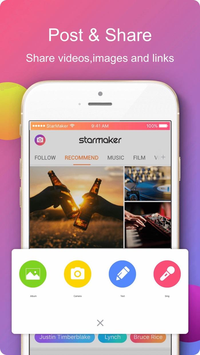 StarMaker Lite Screenshot