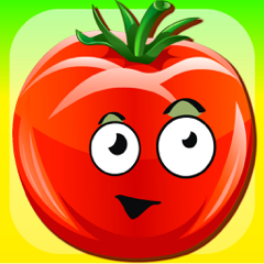 Funny Veggies! Educational games for children