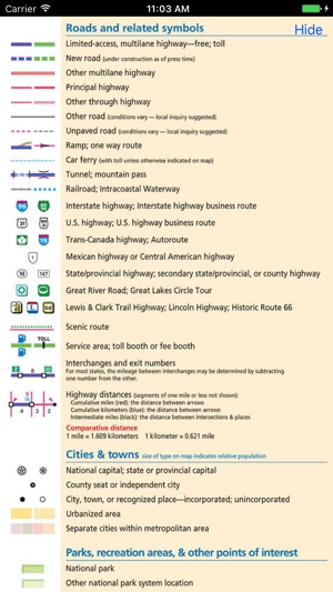 Rand McNally Road Atlas on the App Store on