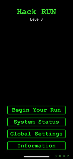 Hack RUN Screenshot
