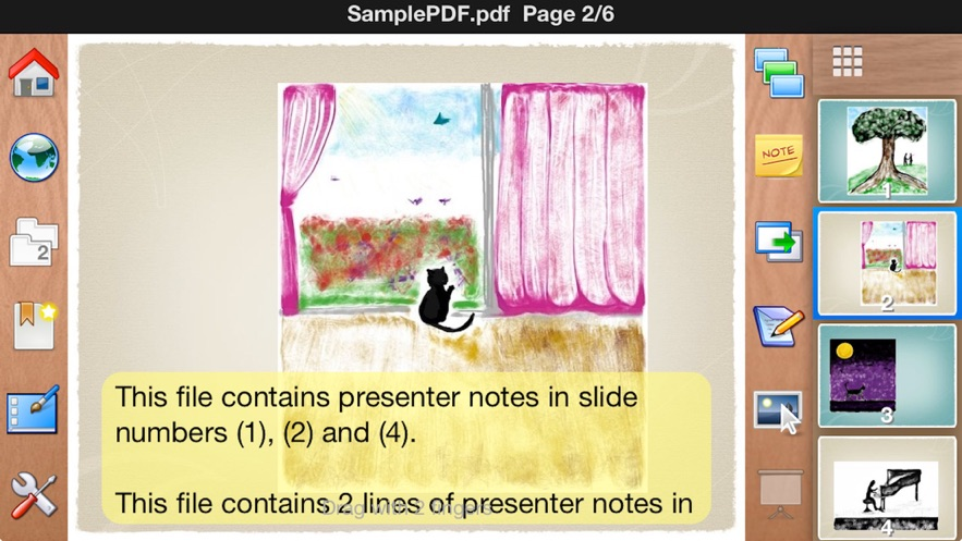 2Screens Presenter for iPhone App 截图