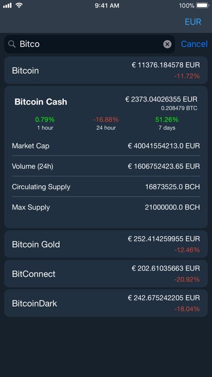 Bitcoin X - real time market screenshot-4