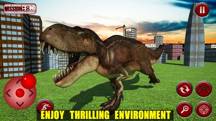 FPS Dinosaur City Smasher screenshot-3