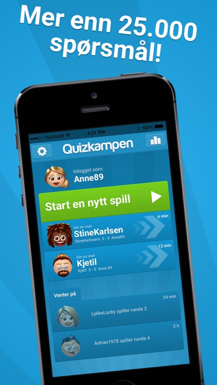 Quizkampen™ screenshot-1