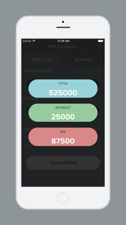 Loan EMI - Simple EMI App