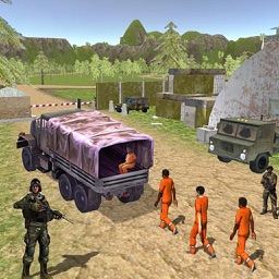 Army Criminal Transport Van 3D