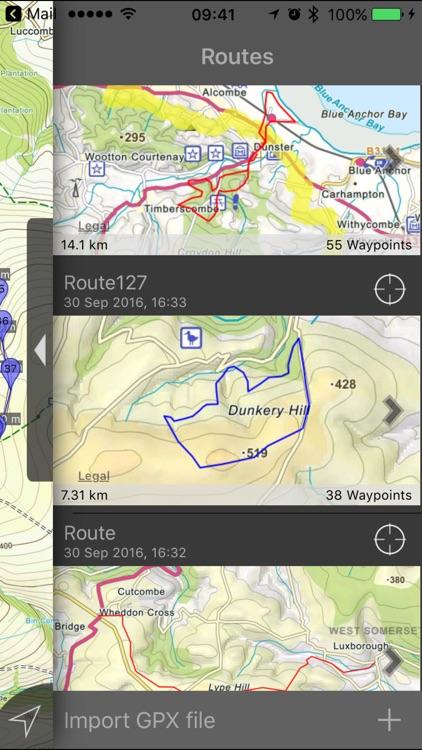 Exmoor Maps Offline