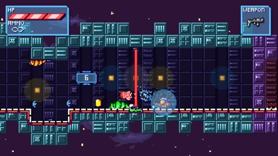Deep Space | Space-Platformer screenshot 5
