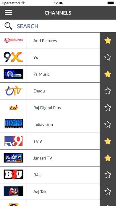 TV Program India (IN) Screenshot on iOS