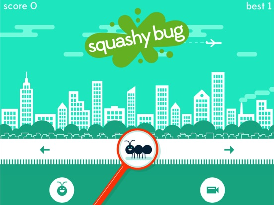 Игра Squashy Bug