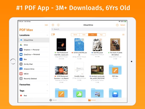 Screenshot #1 for PDF Max Pro - #1 PDF app!
