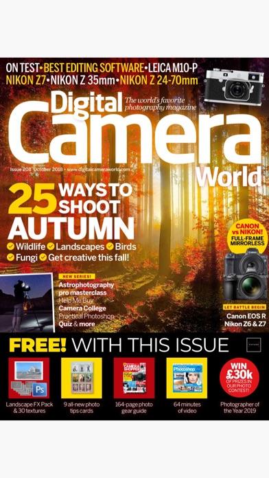 Digital Camera World review screenshots