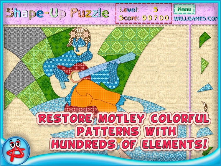 Shape Up Puzzle for Girls screenshot-4