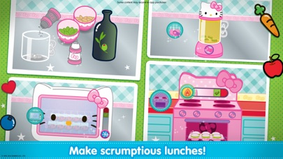 Hello Kitty Lunchbox screenshot two
