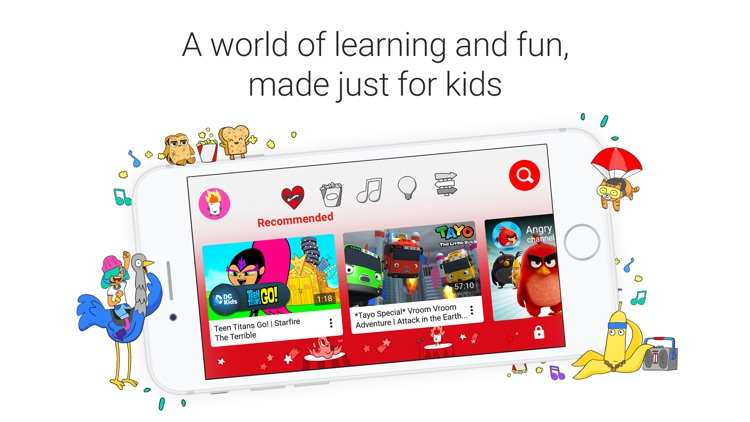 YouTube Kids screenshot-0