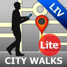 Livorno Map and Walks