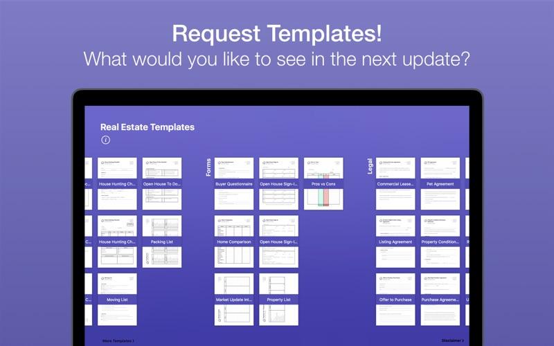 Real Estate Templates Screenshot