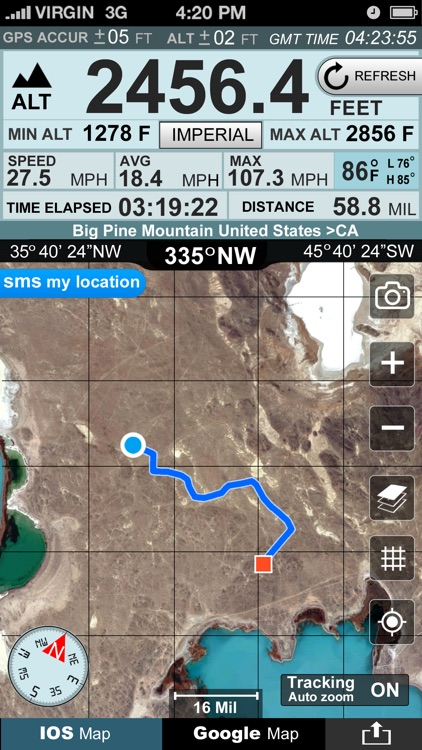 Altimeter GPS+ (Speedometer) screenshot-1