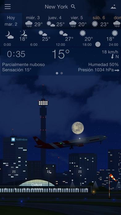 Screenshot for YoWindow Tiempo in Peru App Store