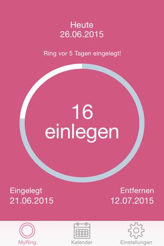 MyRing - Ring Contraceptive screenshot 1