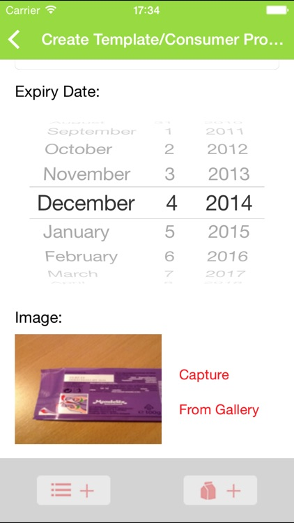 Expiry Date App screenshot-1