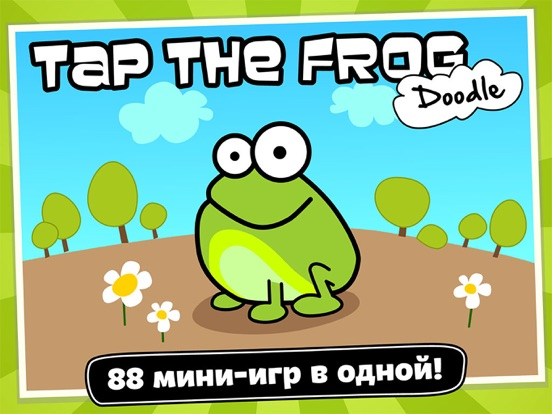 Tap the Frog: Doodle на iPad