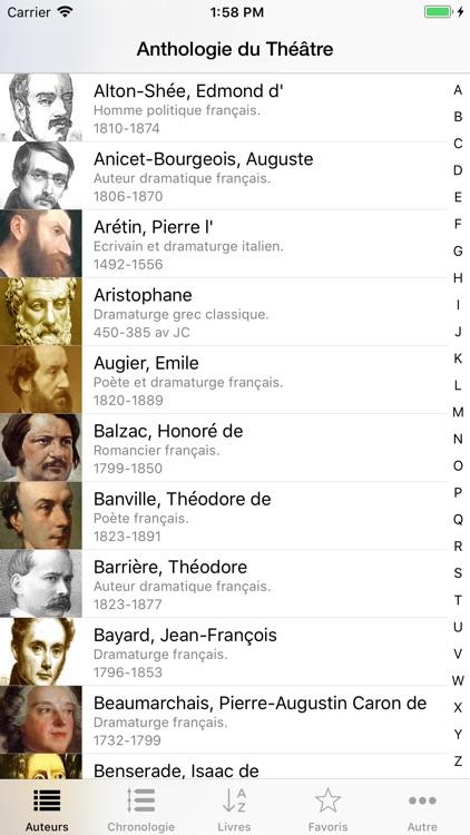 Anthologie du Théâtre screenshot-0