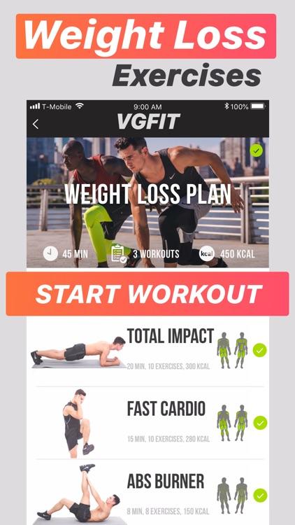 VGFIT Weight Loss Workouts