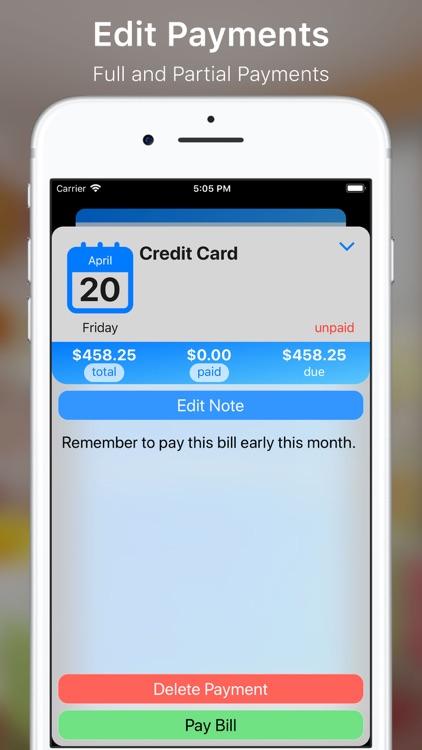 My Bills++ Pro screenshot-7