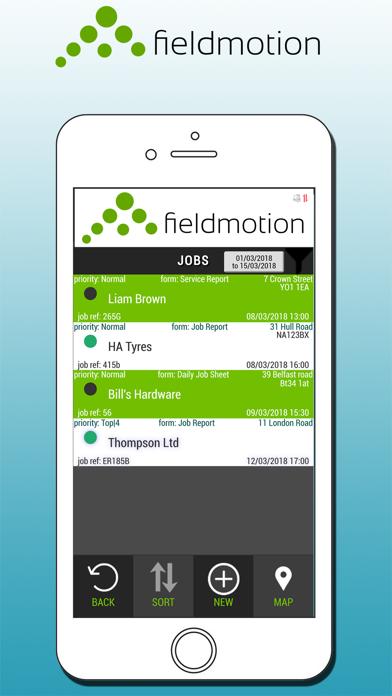 FieldMotion screenshot two
