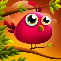 Jumping Cute Feathers : Tiny birds learning to fly - Free Edition
