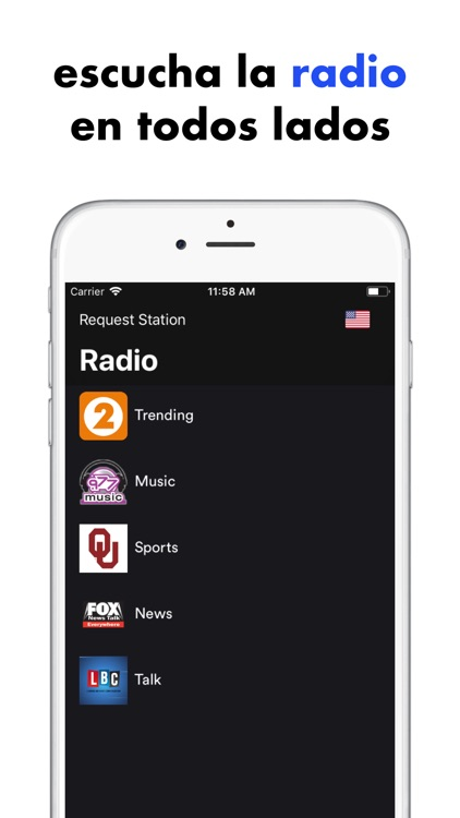 Xenon - Disfruta la música FM screenshot-5