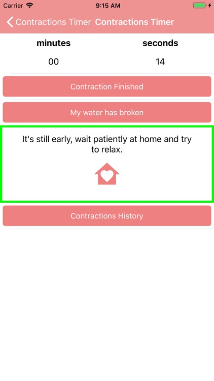 Contraction Timer & Counter