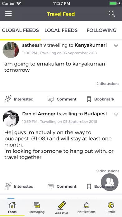 TravelBuddy - Travel Locally screenshot three