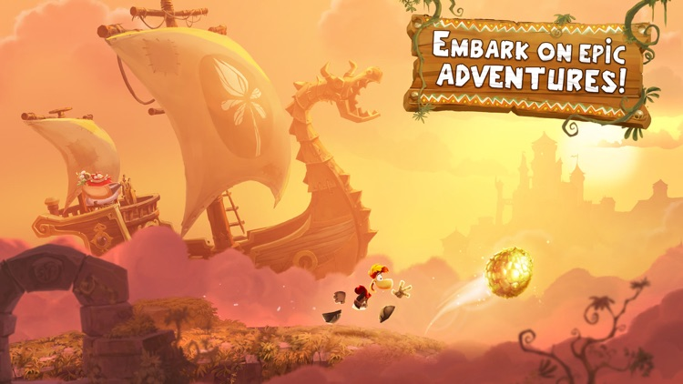 Rayman Adventures screenshot-1
