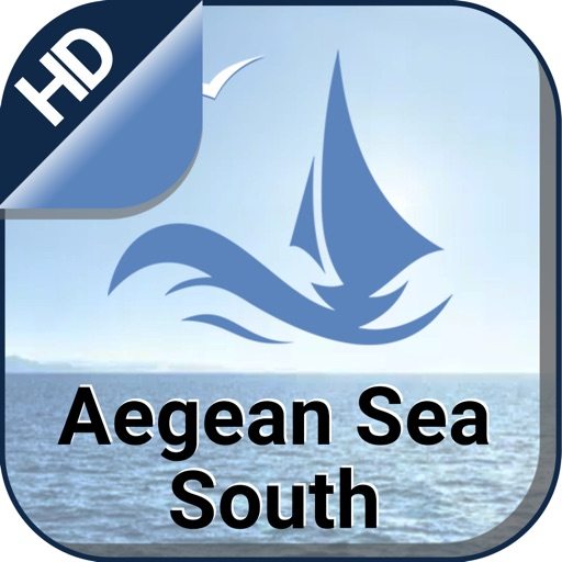 Aegean Sea South offline Nautical boating charts