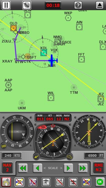 Radio Navigation Simulator IFR screenshot-3