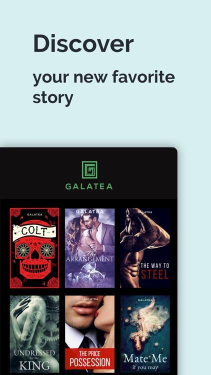 GALATEA - Immersive Stories