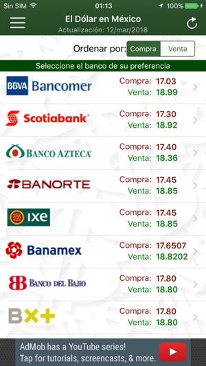 上的 El Dolar En Mexico