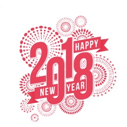 Happy New Year Wishes Sticker